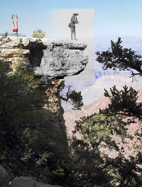 From Reconstructing the View: Photos by Mark Klett and Byron Wolfe