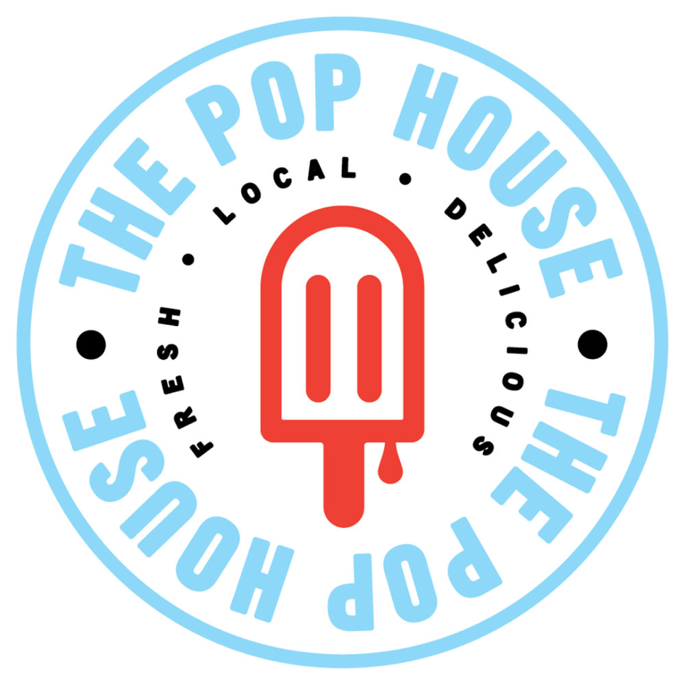 The Pop House   The Pop House uses high quality, natural ingredients to make craft popsicles- and we try our best to source those ingredients from local Oklahoma suppliers.  All of our pops are made from scratch and use real fruit and fresh-squeezed fruit juices. We sell the pops from our awesome Pop Trike, around Guthrie Green and other Tulsa parks, special events and private parties.
