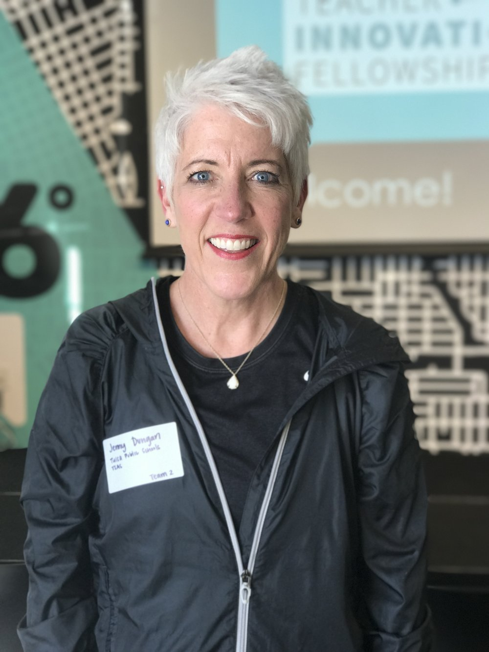 "Jenny Dungan, Tulsa School of Arts and Sciences ""I would love for all of my students to understand the importance of starting a healthy lifestyle while they are young."""
