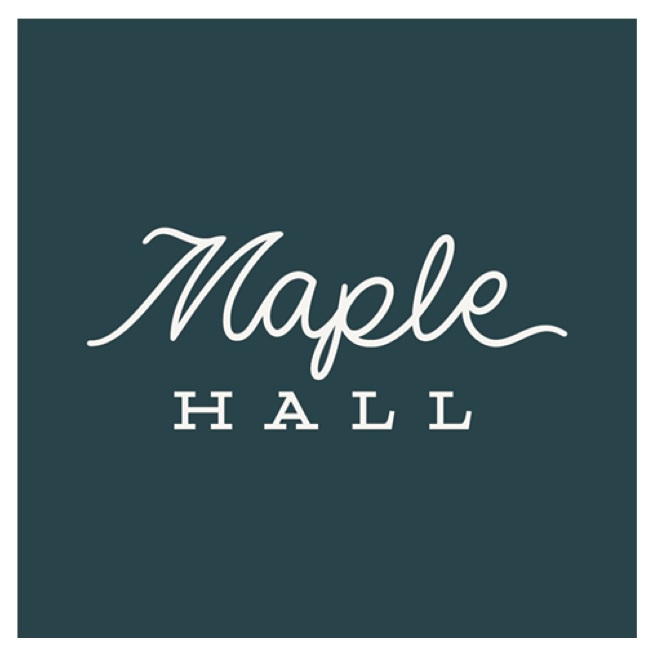 Maple Hall   Maple Hall is an 11-lane bowling alley located in the heart of downtown Knoxville, Tennessee. They offer a full-service bar, small plates, cozy lounge areas, a live stage and a two-lane private VIP room.