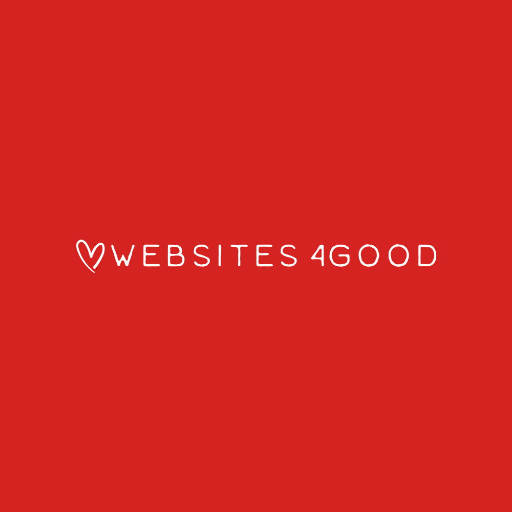 Websites4Good   Websites4Good is your community partner to help promote positive social impact. We deliver effective methods to share your story with your audience through a variety of mediums - web design, internet marketing, market research, social media management, one-on-one training, web workshops, e-book publishing and more.