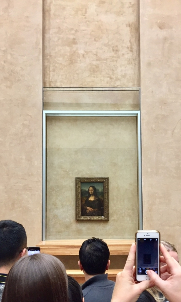 Mona Lisa at the Louvre Paris | ©2016 Elizabeth Glessner.jpg