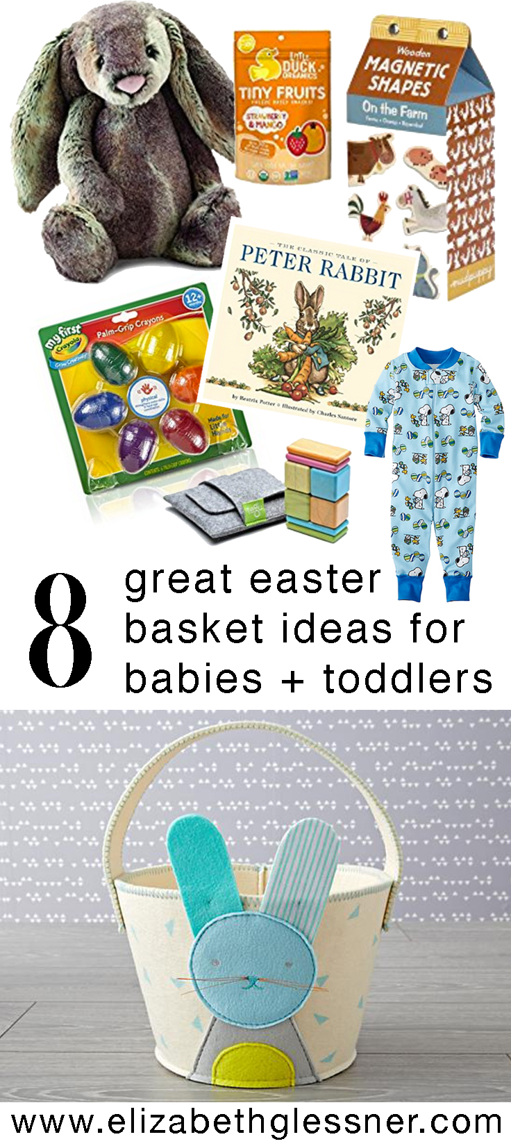 8 great easter basket ideas for babies and toddlers elizabeth 8 great easter basket ideas for babies and toddlers elizabeth glessner embracing the good negle Choice Image