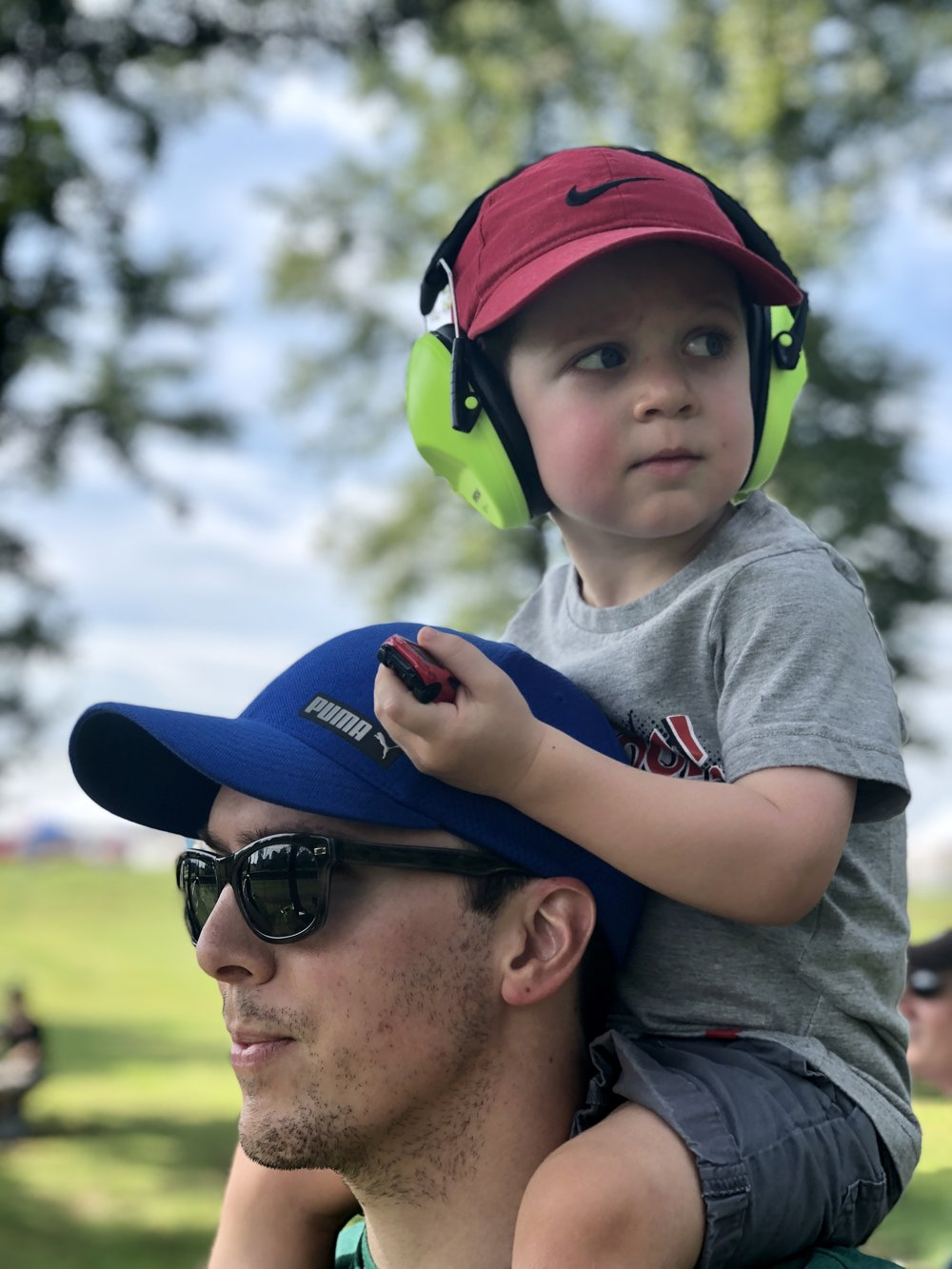 Dad and Son at VIR IMSA Series