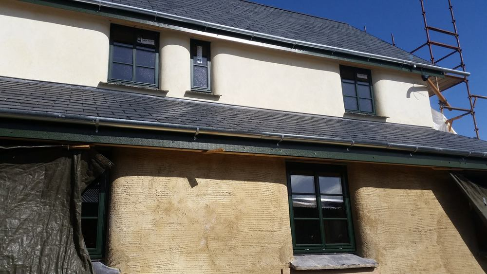 The Lime House nearing completion at the Rock Farm, Slane.