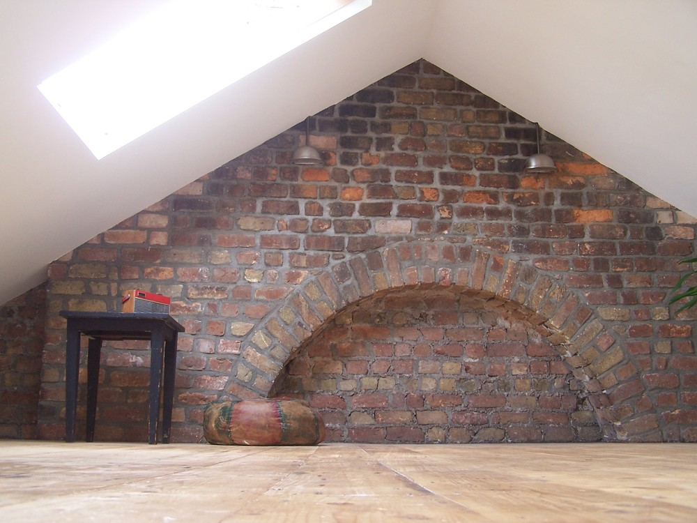 Converted Attic Space.