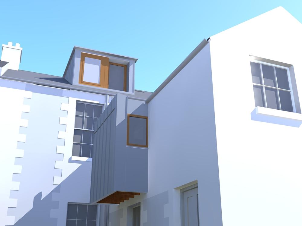 Proposal for Rear Dormer Window.