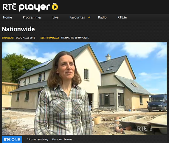 The Lime House guesthouse featured on RTE Nationwide.