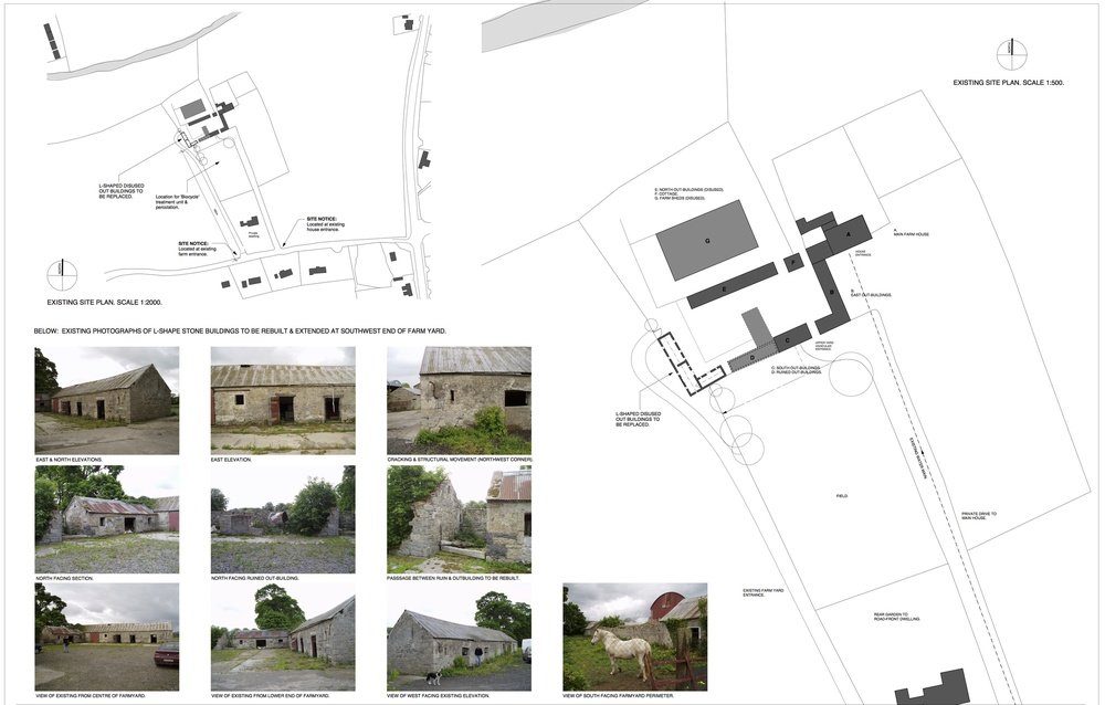 Ballinacarrig Farm Proposals, Carlow  - Hofler Architects