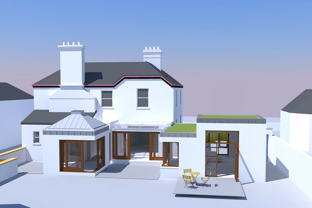Proposed House Extension Project in Naas, Co. Kildare.