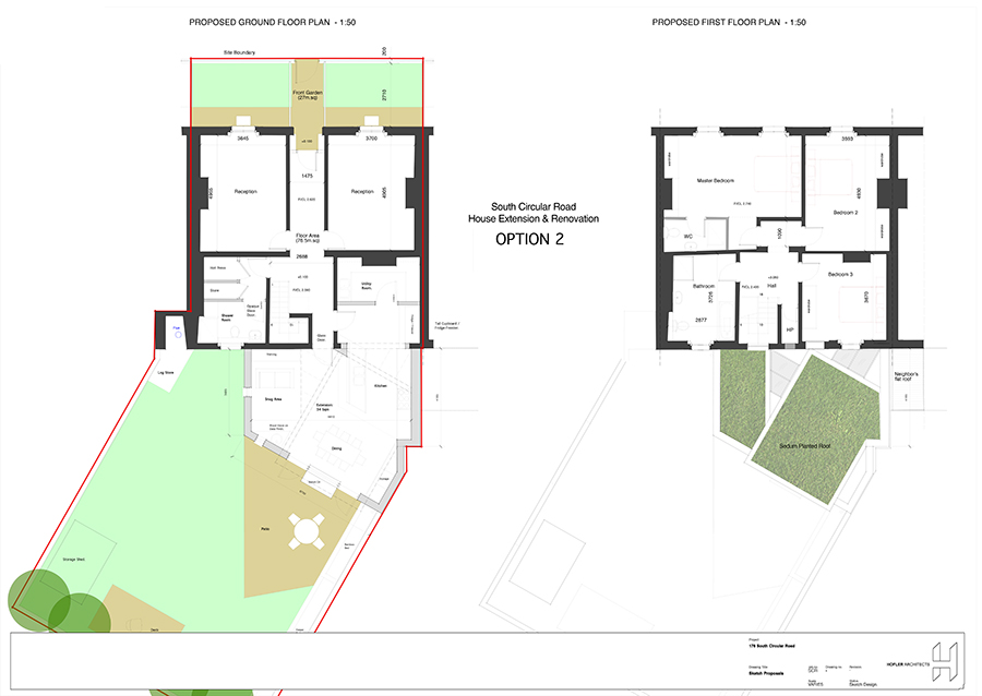 Home extension project plan template