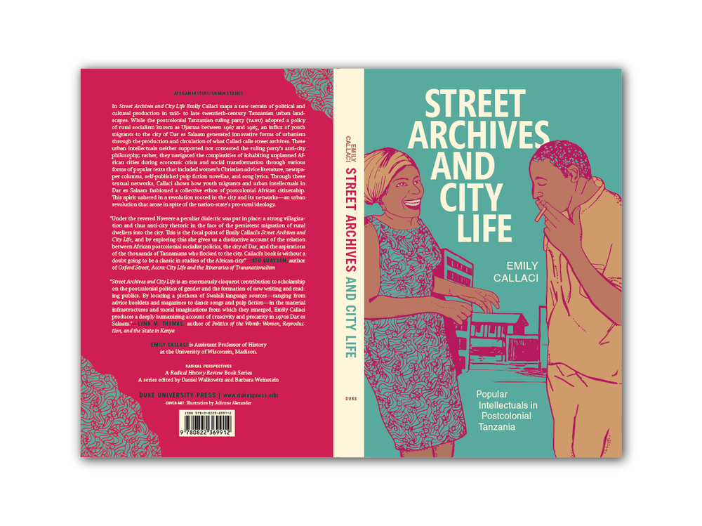 Illustration + Cover Design for  Street Archives and City Life  [Duke Press]