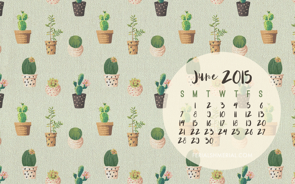 Click here to download the June desktop calendar and phone wallpaper.