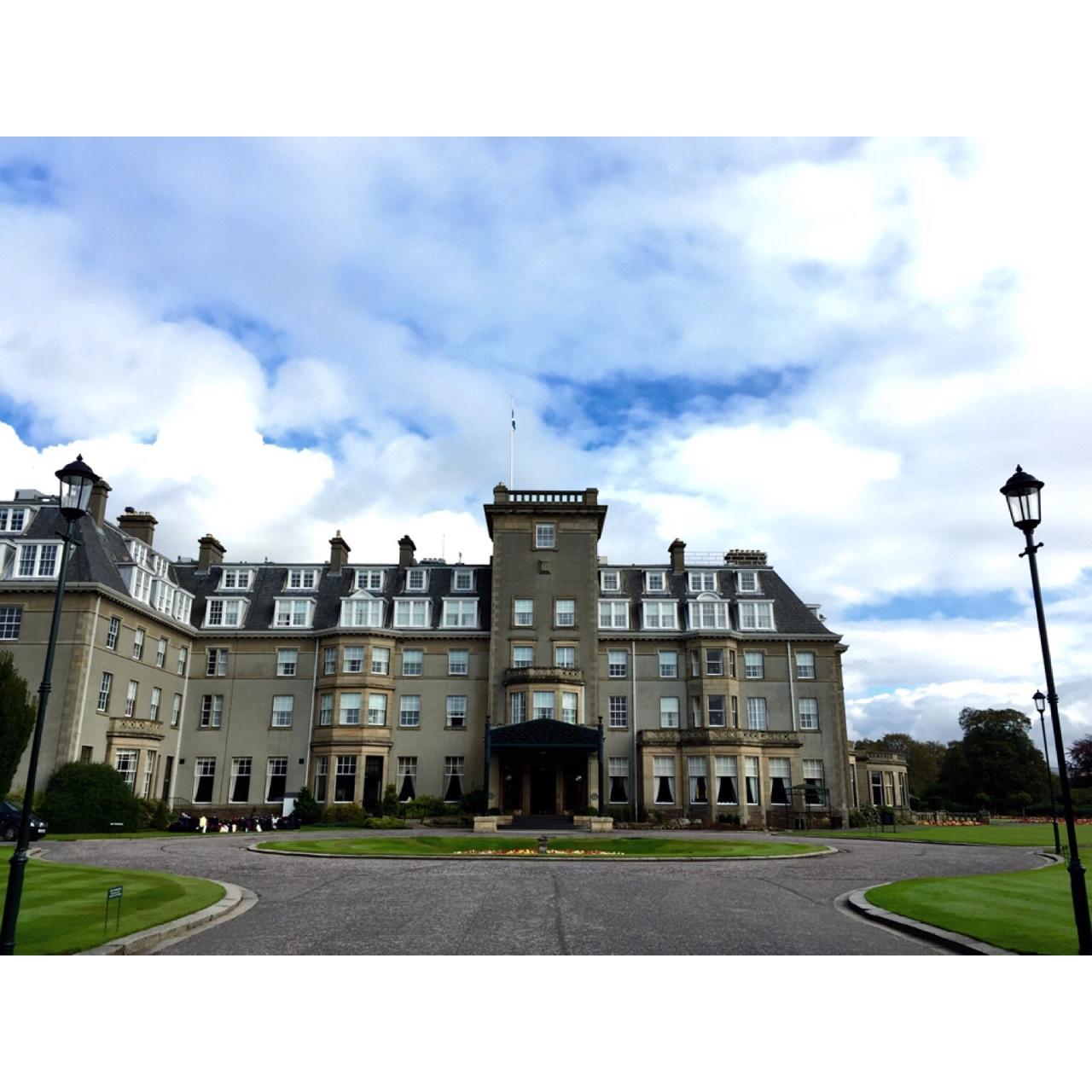 Weekend away Spending this weekend in Gleneagles- so beautiful! //SHE