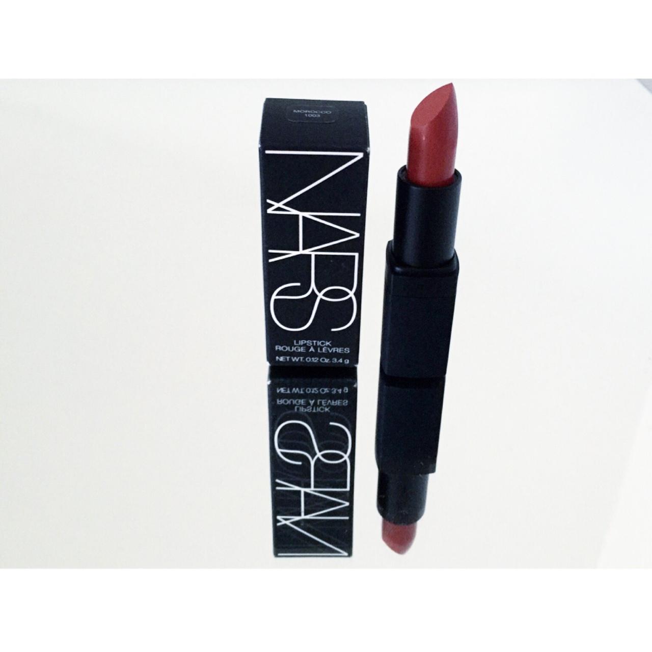 Morocco Semi-matte NARS Cosmetics lipstick. Love this shade 'Morocco'. //SHE
