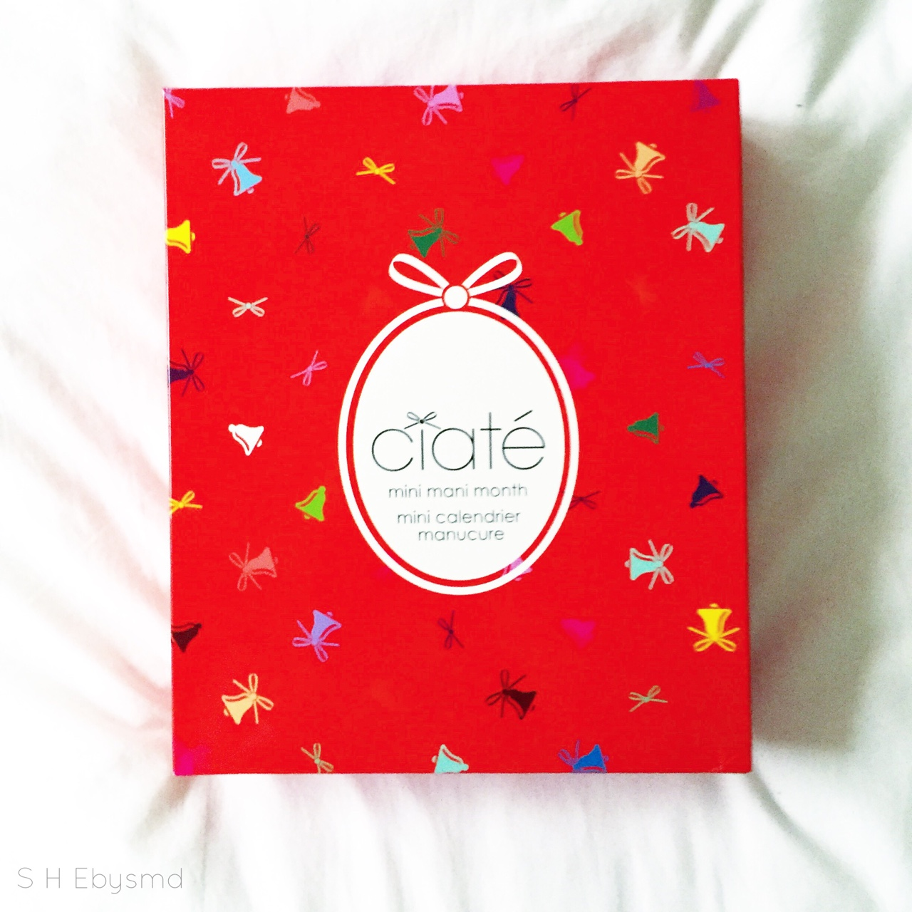 Mini Mani Month Ciaté Nail Polish Calendar-Can't wait to get a New Colour Everyday! //SHE