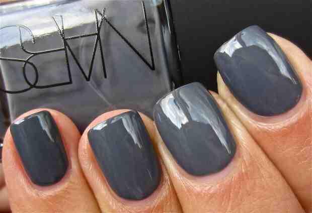 Grey Mani Perfect Shade of Grey Polish from NARS Cosmetics called Storm Bird- Love! //SHE
