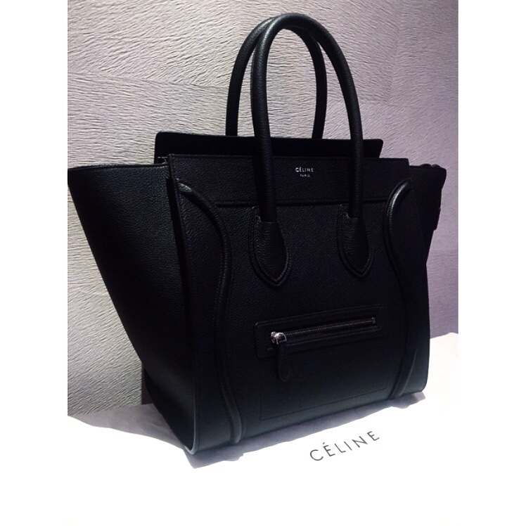New Member New Member to the Bag Fam- Black Céline Luggage Tote. //SHE