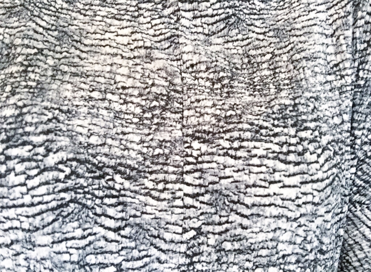 Texture Topshop Crinkled Print High Neck Top- Love this Texture! S H E