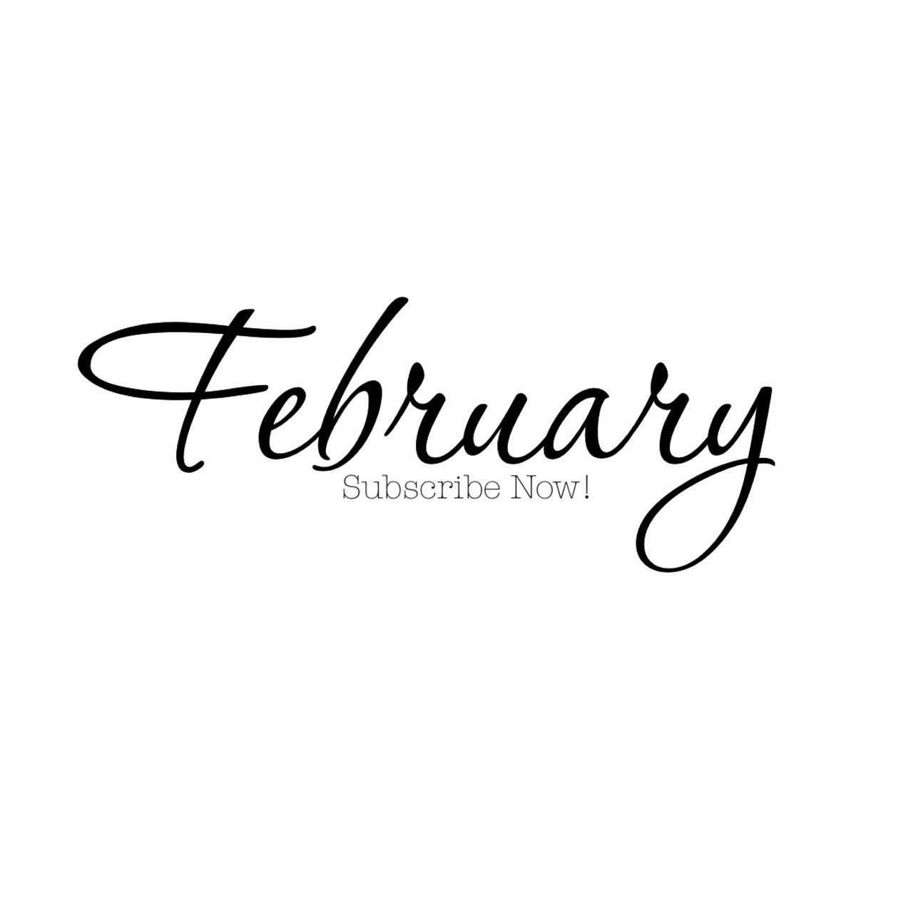 Happy Monday & Happy February! My very first Monthly Newsletter was sent this morning (Subscribes check your emails!) Stay up-to-date on the adventures I've coming by subscribing now- Get ready for a little surprise! S H E