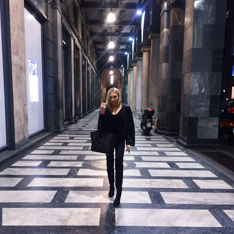 Exploring Milano after the Moschino Show- So Beautiful! S H E