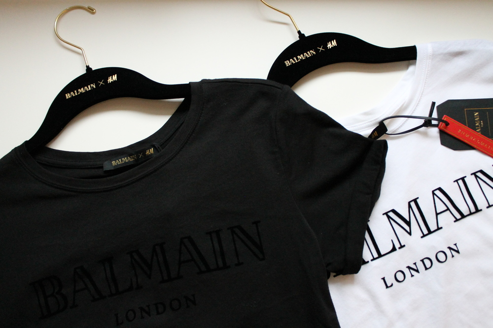 Balmain London T-shirts.