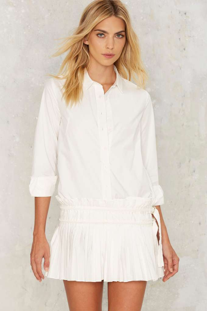 NASTY GAL - SHIRT DRESS