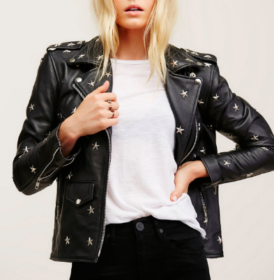 FREE PEOPLE - STAR STUD JACKET
