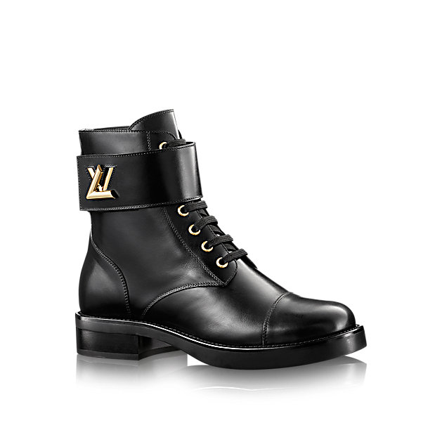 LOUIS VUITTON - BIKER BOOTS