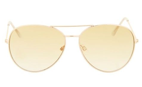 TOPSHOP TRANSPARENT AVIATORS