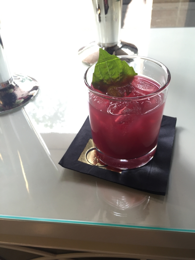 Spirit-Elite's rendition of a blackberry basil smash.