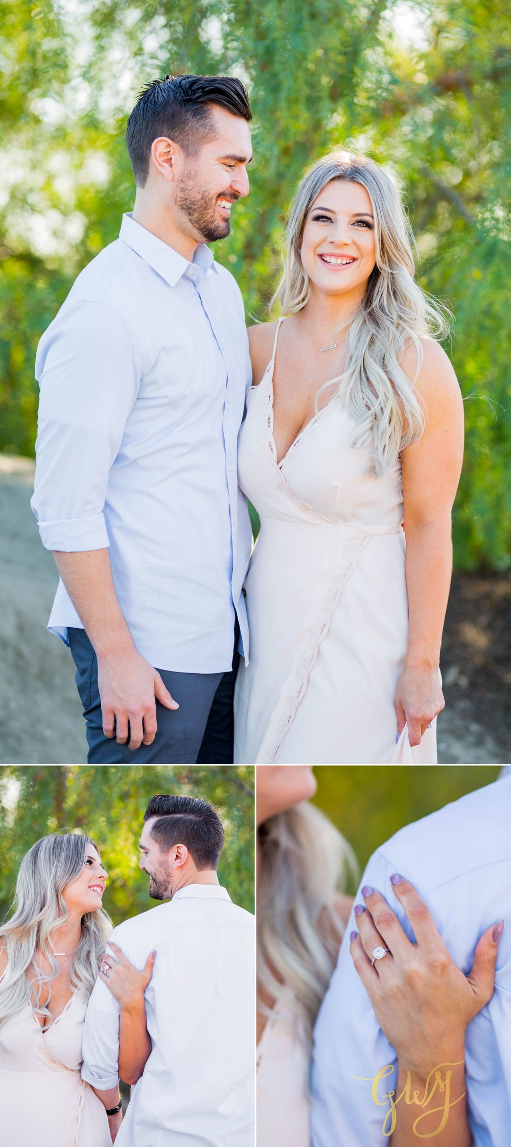 Christien + Crystal Back Bay Newport Crystal Cove Reef Point Sunset Engagement Portrait Session by Glass Woods Media 5.jpg