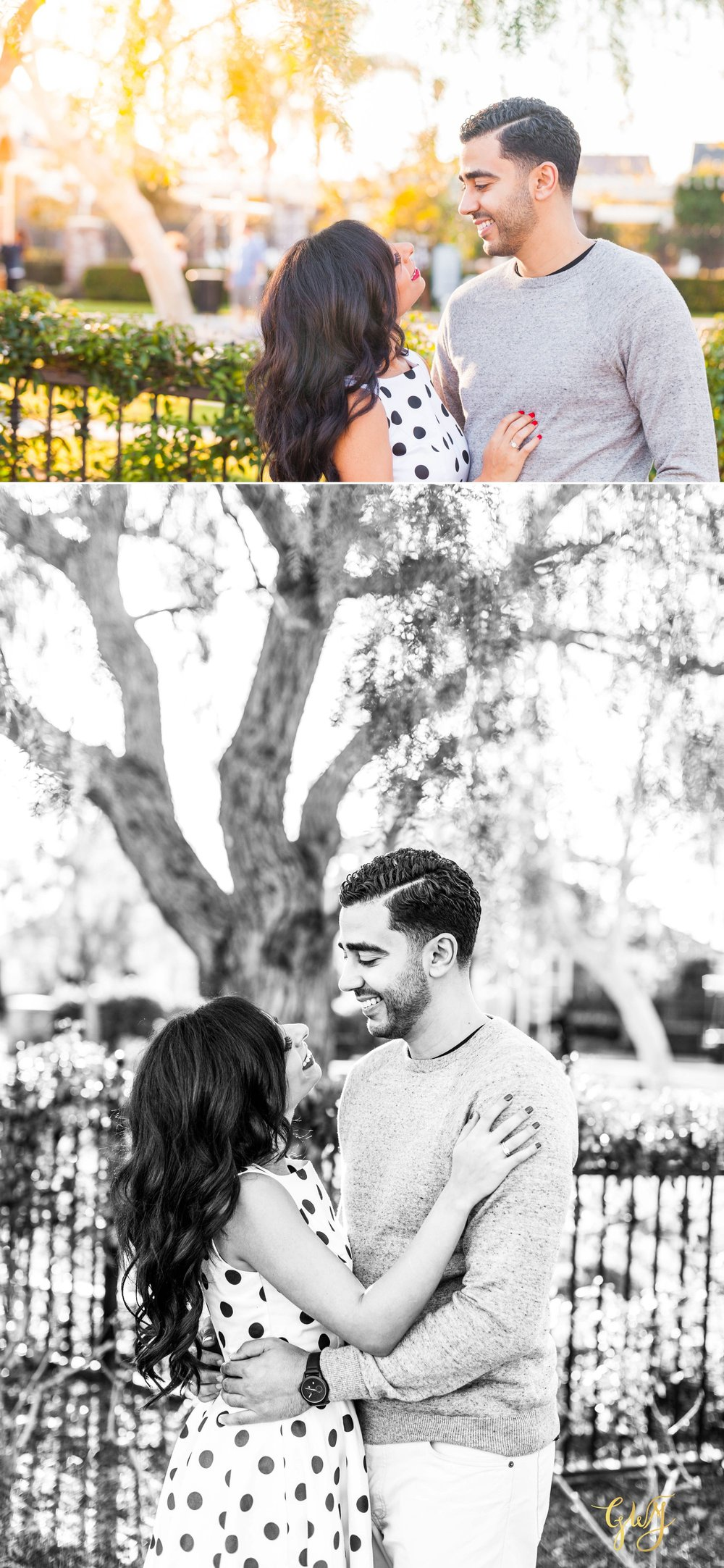 Joy + Mena Tustin Downtown Santa Ana 4th Street Market Coptic Picnic Themed Engagement by Glass Woods Media 2.jpg