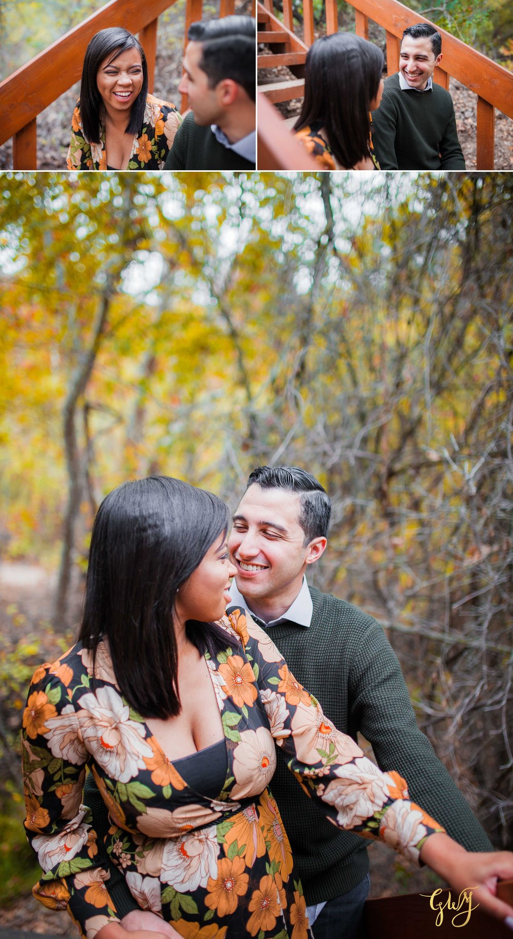 Antonia + Connor Cal State Fullerton CSUF Santiago Oaks Winter Engagement by Glass Woods Media 11.jpg