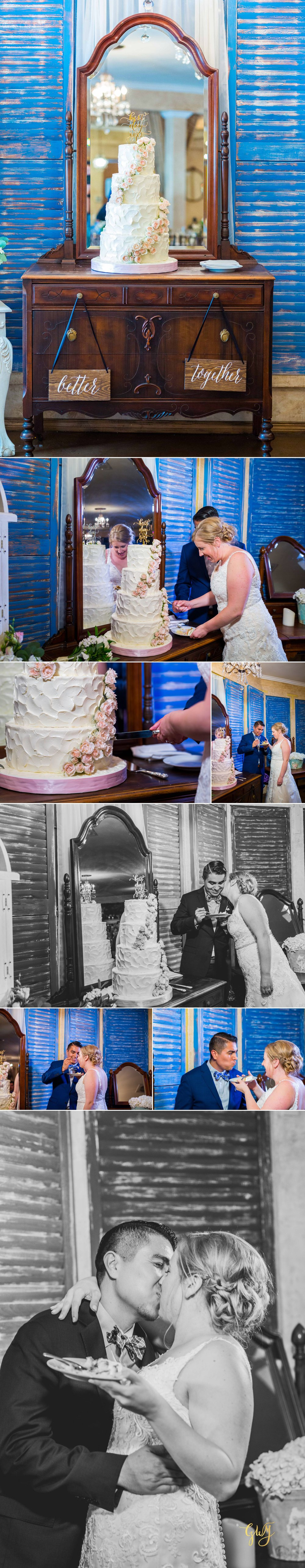 Javier + Kari Avenue of the Arts First Look Vintage Rose Wedding Ceremony Reception by Glass Woods Media 25.jpg