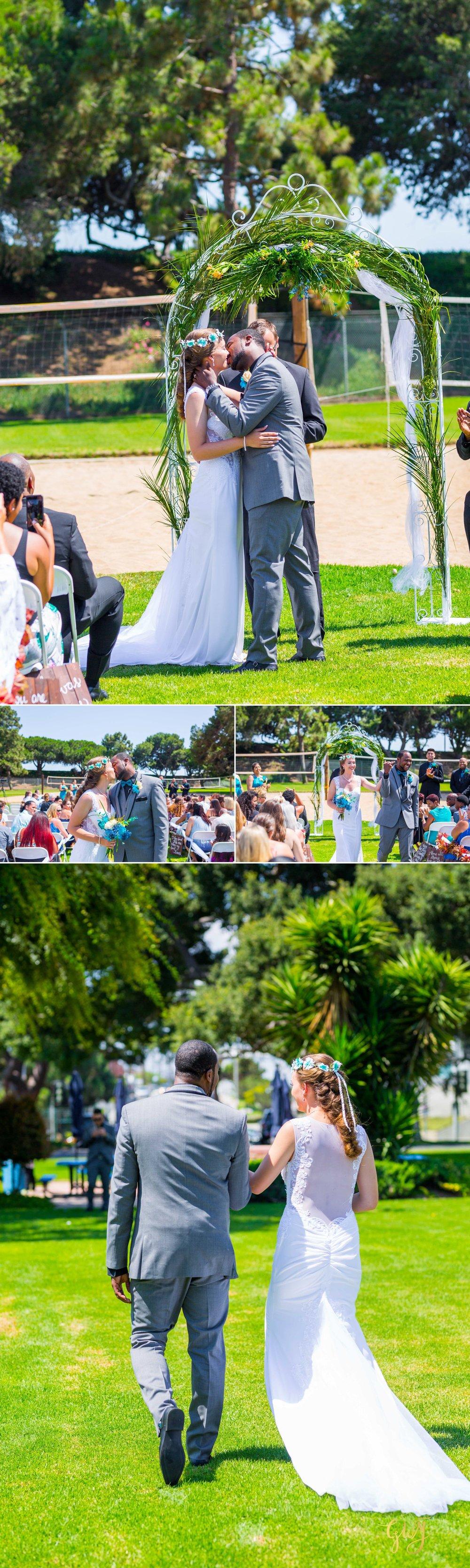 Rebecca + Torand El Segundo Chevron Employee Park Summer Barbados Bajan Wedding by Glass Woods Media 4.jpg