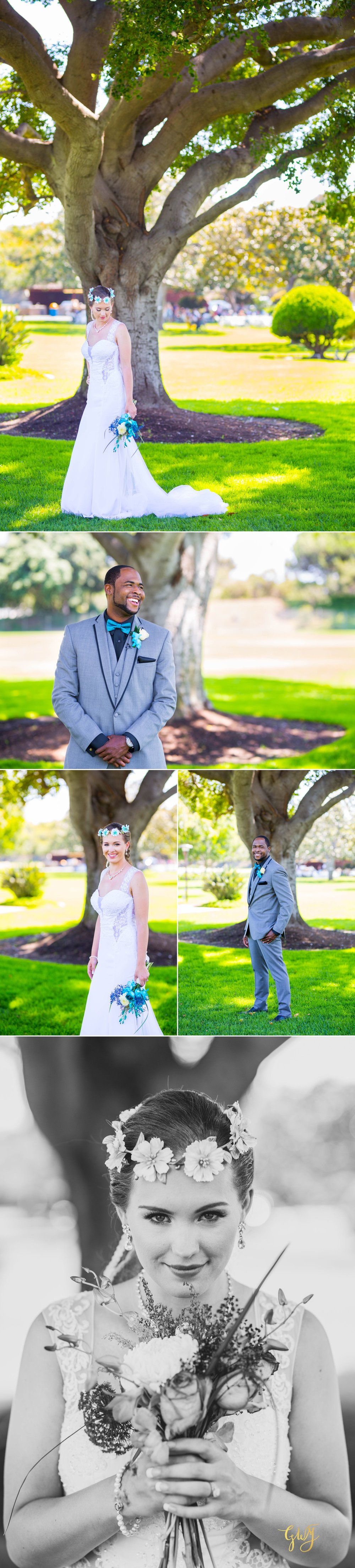 Rebecca + Torand El Segundo Chevron Employee Park Summer Barbados Bajan Wedding by Glass Woods Media 7.jpg