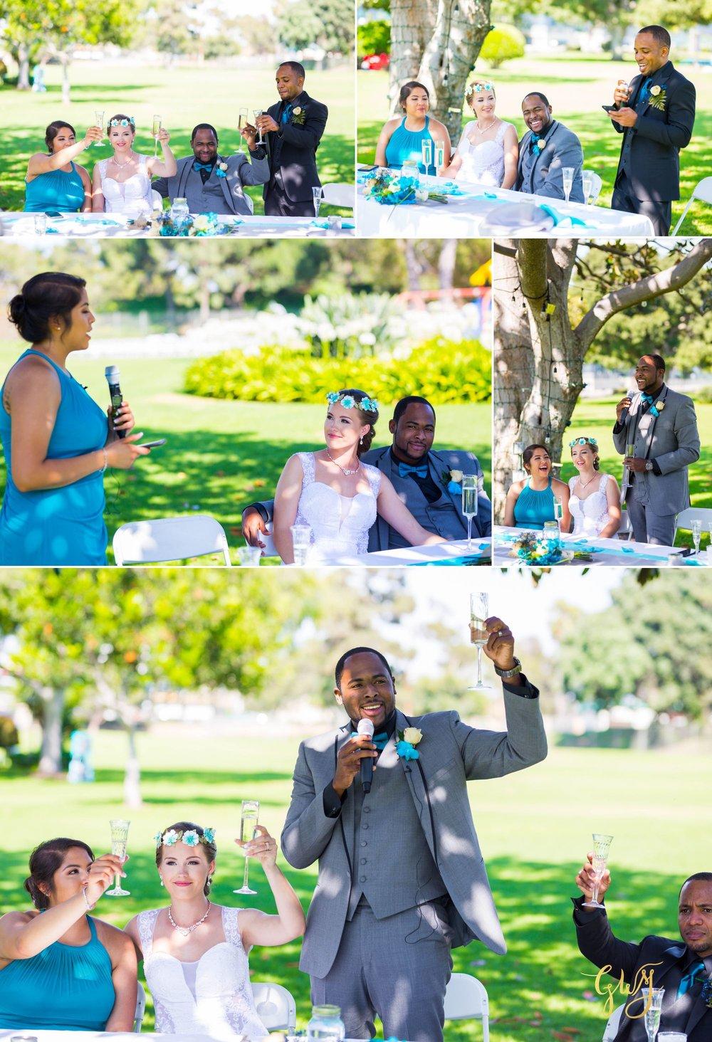 Rebecca + Torand El Segundo Chevron Employee Park Summer Barbados Bajan Wedding by Glass Woods Media 11.jpg