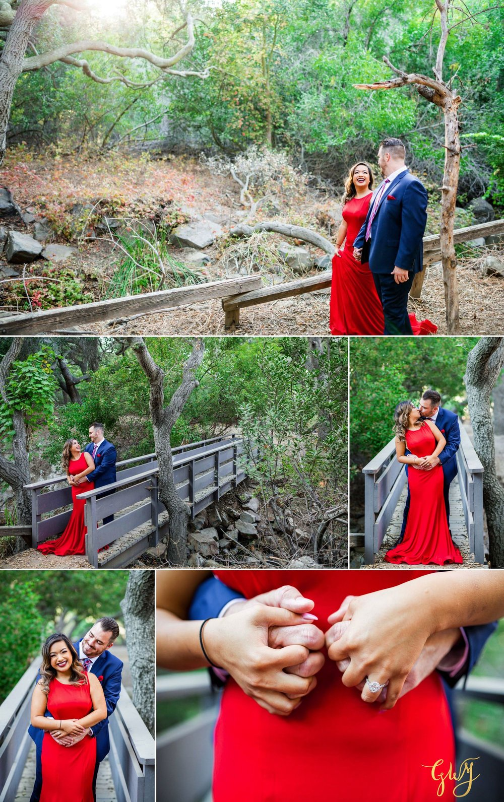 Gillian + Ryan Oak Canyon Nature Center Orange Circle Engagement by Glass Woods Media 2.jpg