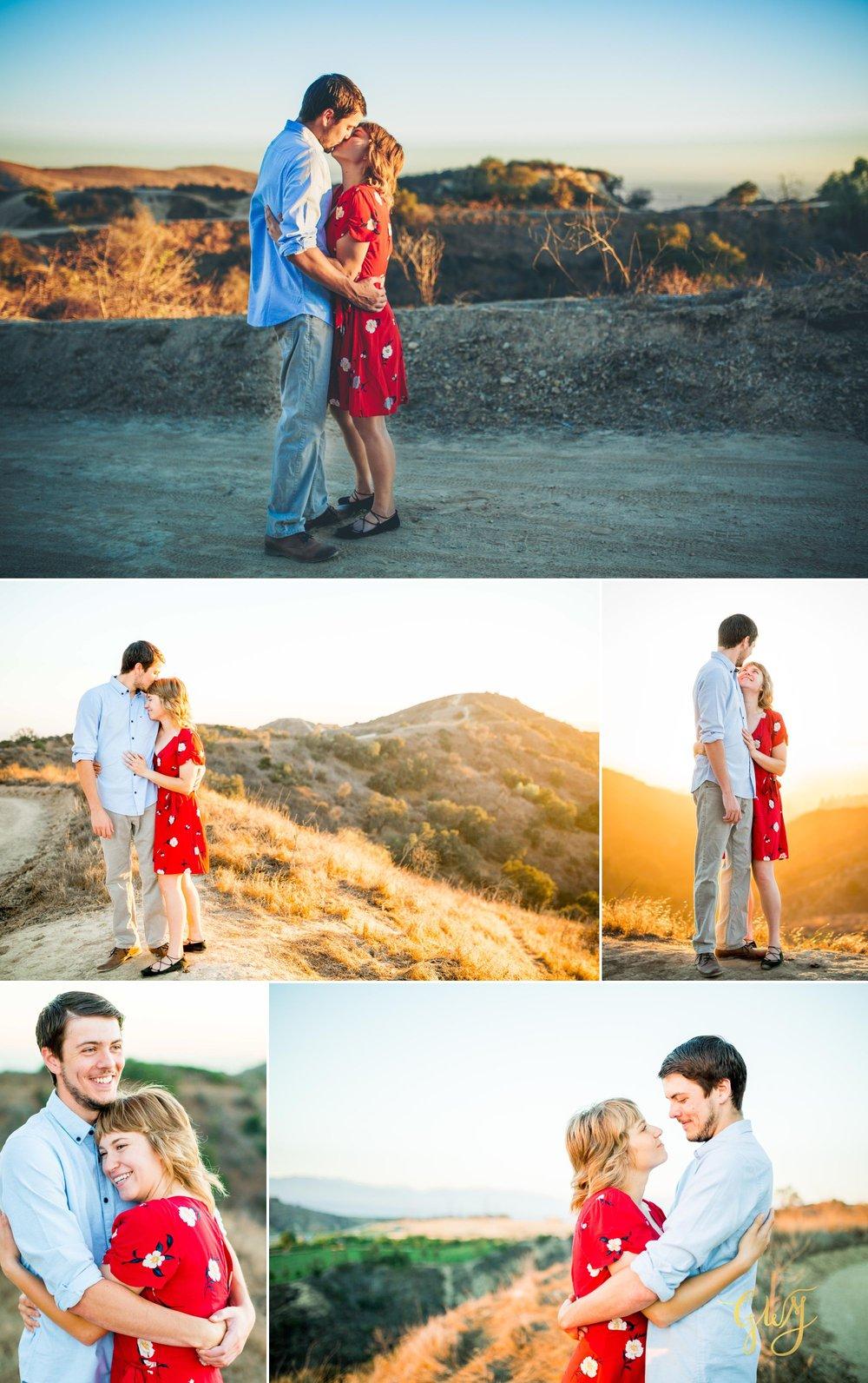 Garrett + Michelle Turnbull Canyon Adventurous Whittier Hike Engagement by Glass Woods Media 7.jpg