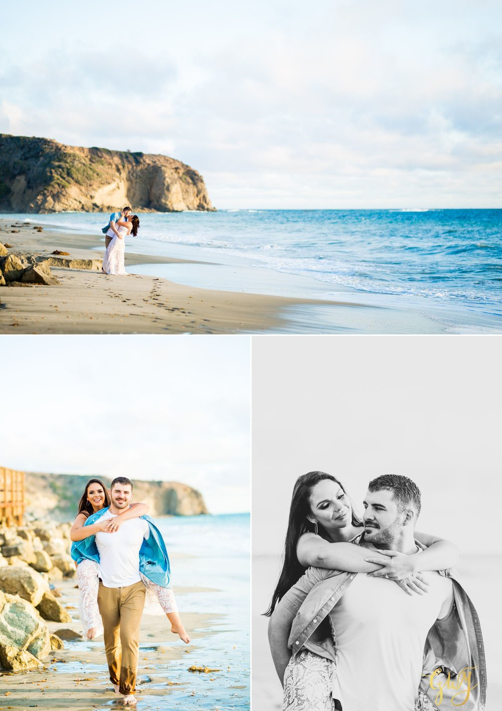 Alejandro + Rachel Mission San Juan Capistrano Strands Beach Dana Point Sunset Engagement by Glass Woods Media 10.jpg