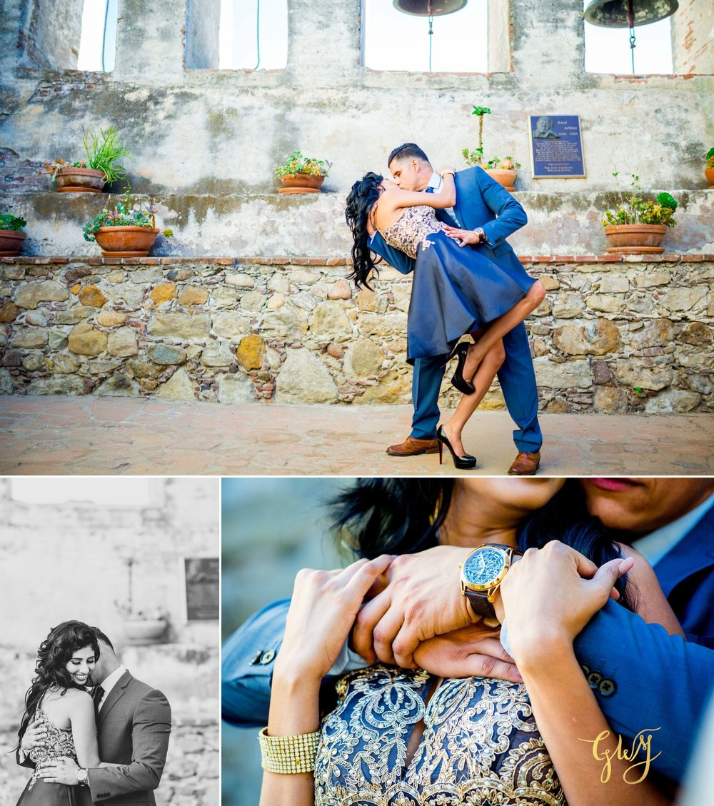 Angela + Drew Mission San Juan Capistrano Strands Beach Sunset Engagement 4.jpg