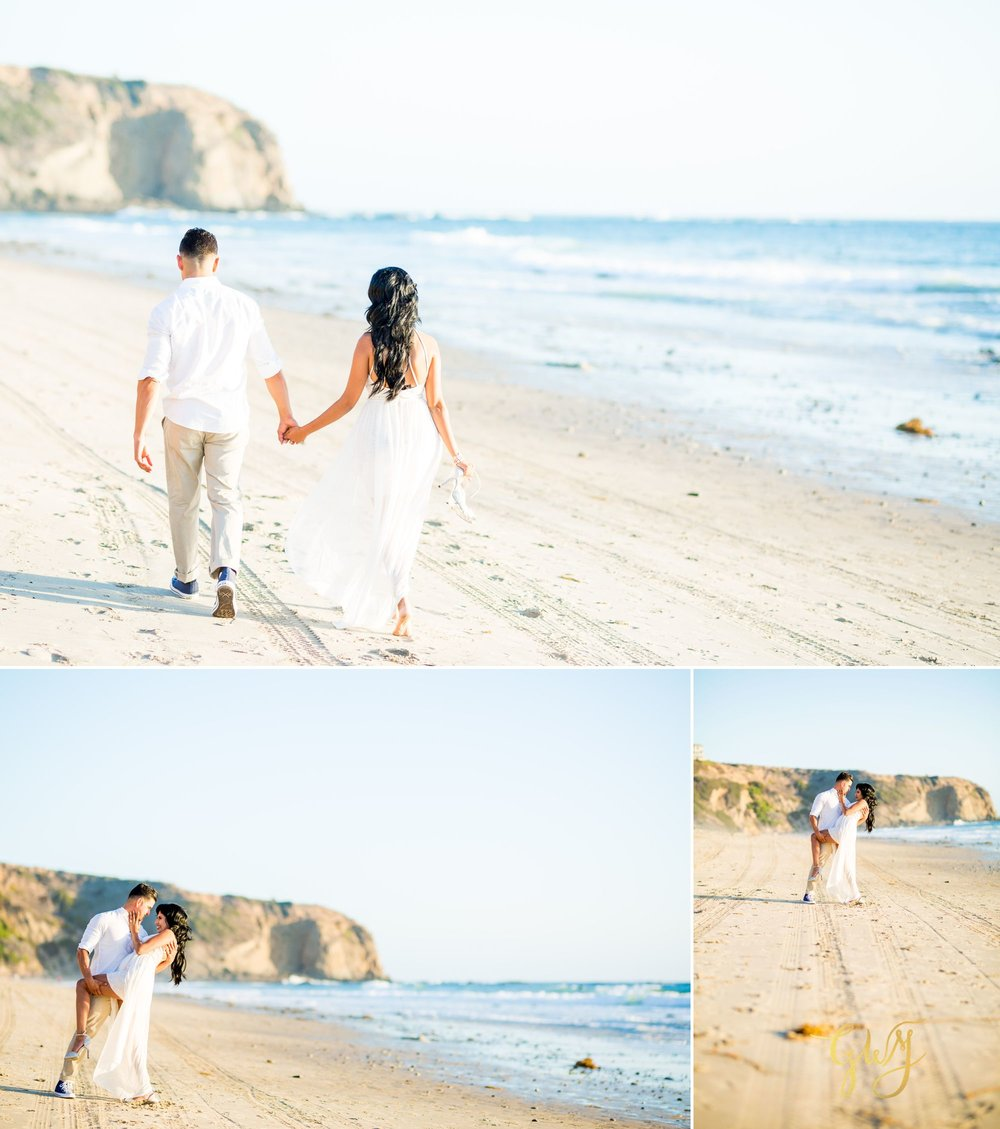 Angela + Drew Mission San Juan Capistrano Strands Beach Sunset Engagement 8.jpg