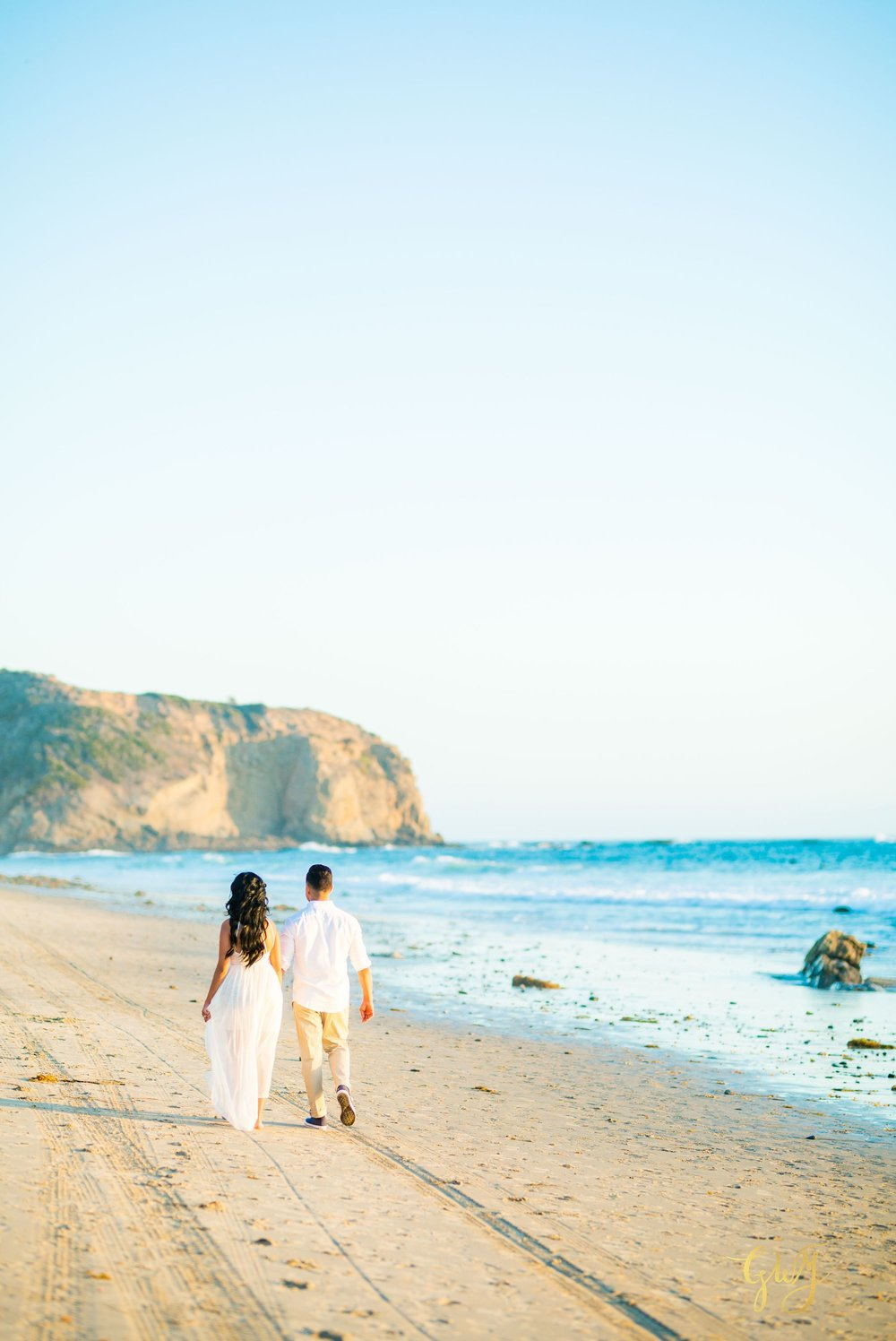 Angela + Drew Mission San Juan Capistrano Strands Beach Sunset Engagement 10.jpg
