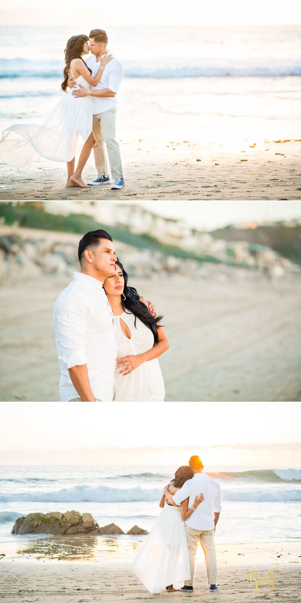 Angela + Drew Mission San Juan Capistrano Strands Beach Sunset Engagement 15.jpg