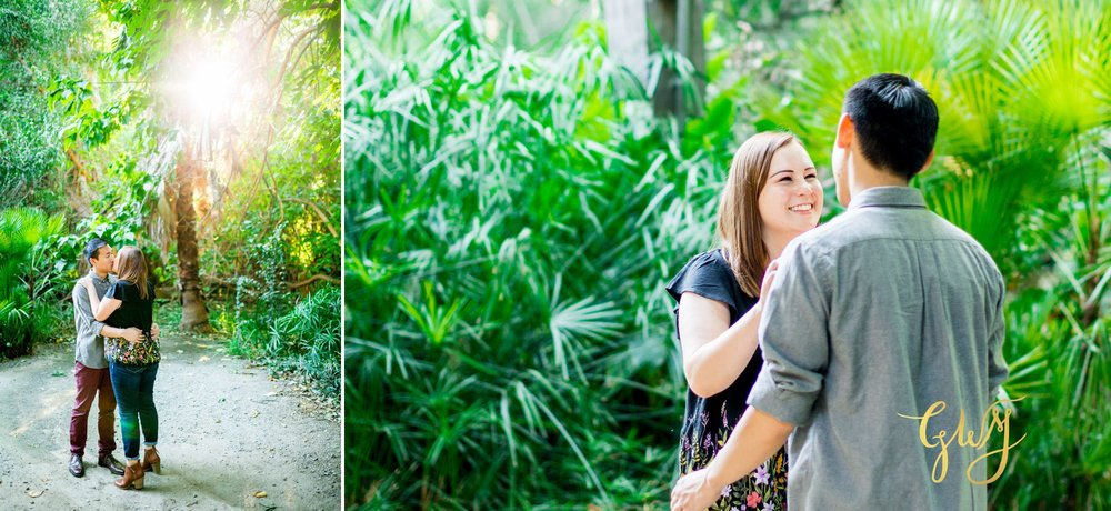 Keira + Michael Los Angeles Arboretum Pasadena City Hall Engagement 7.jpg