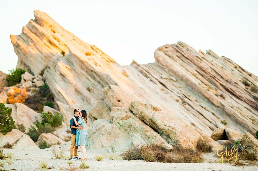 KJ + Maddie Vasquez Rocks Adventurous Hiking Outdoors Engagement Session by Glass Woods Media 16.jpg