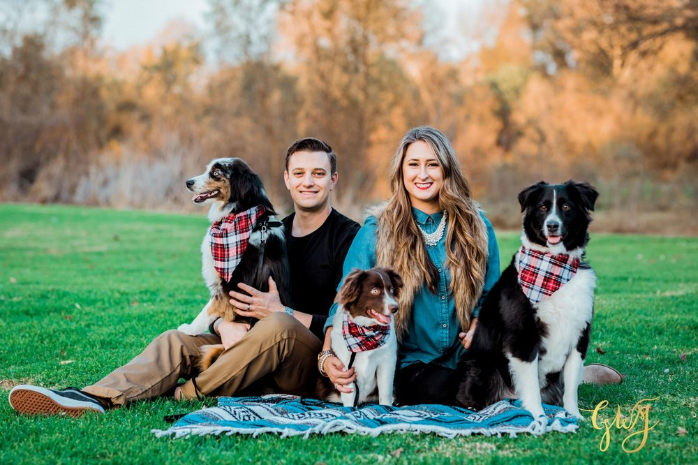 Adams Family Huntington Central Park Australian Shepherd Dogs Puppy Fall Winter Holiday Portrait Mini Session by Glass Woods Media 10.jpg