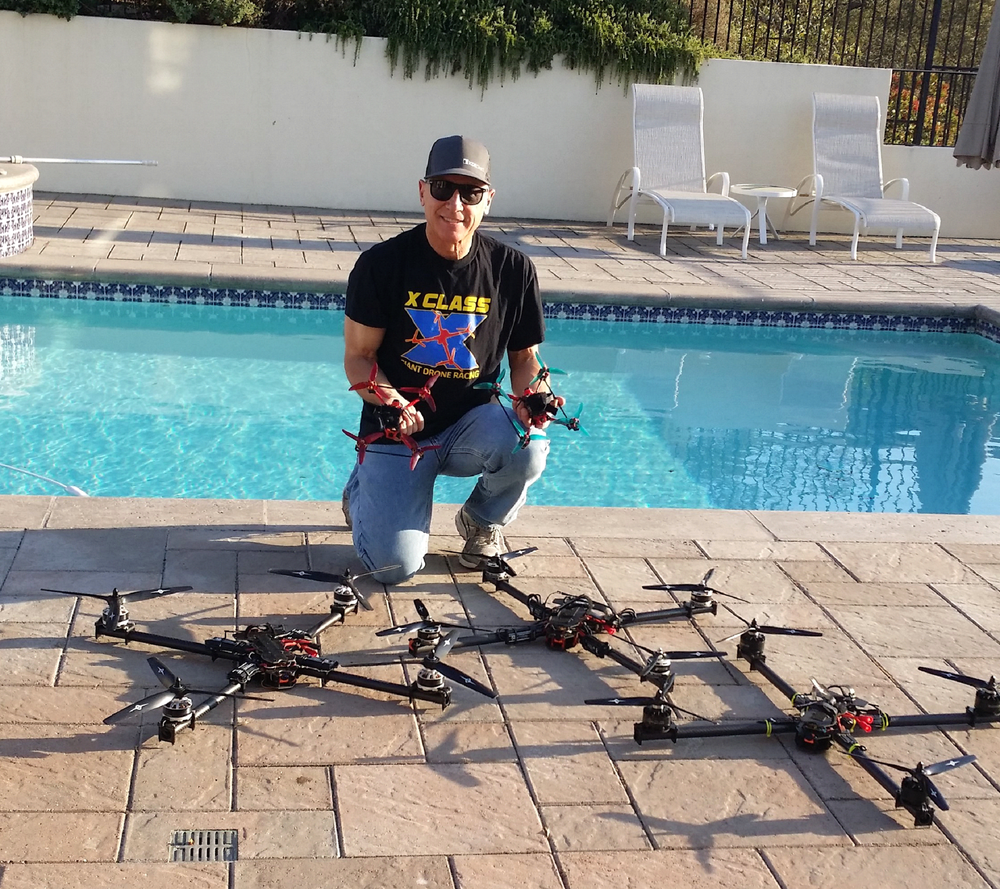 Mike Barna - Former International Open Pylon RC ChampionNumerous RC National, Regional, State and Local Trophies in Pattern (ACRO) and Formula One (Pylon)2018 International Indoor 4 Wall Handball ChampionFPV Racing Team: https://skylinefpv.comX CLASS Racing Team: https://xclassracers.comMaster of Science in Astronautical and Aeronautical Engineering from Stanford University, specializing in Guidance and Control Systems and Orbital MechanicsBachelors of Science in Mathematics from Arizona State UniversitySenior Airline Captain, Boeing 727, 757, 767 Aircraft at FEDEX (Retired)Former Astronautical Engineer for Lockheed, Hughes Aircraft and United Technologies, specializing in Rockets, Ramjets, Lasers, Spacecraft, Aircraft and MissilesFounder and President Trading System Lab®, a Silicon Valley AI/Machine Learning in Finance CompanyFCC Technicians LicenseCalifornia Real Estate LicenseNFA Series 3 and 30 LicensesFAA Part 107 sUAS Pilots License12 Additional FAA Pilot Licenses or RatingsSelected by Viking UAS to be the West Coast Cinematography Drone Pilot under IDAPP