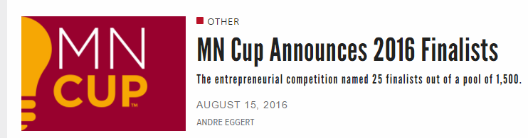 Twin Cities Business MN Cup Finalists